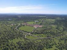 Vista aérea del entorno