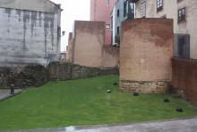 Resto muralla torre